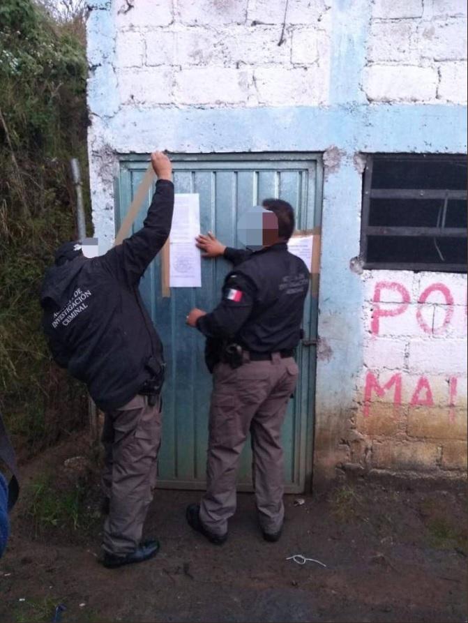 Cateo en Almoloya de Juárez permite localizar explosivos