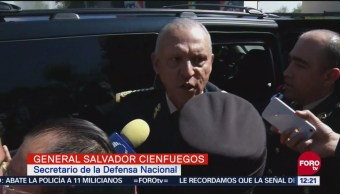 Cienfuegos califica de positiva designación del general Sandoval