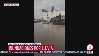 Circulación de la Vía López Portillo, detenida por inundaciones