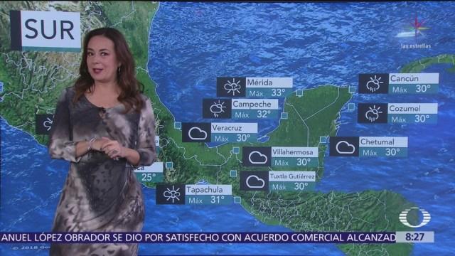 Clima Al Aire: Prevalecerá cielo nublado y lluvias en CDMX