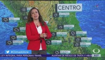 Prevén chubascos y tormentas en el Valle de México