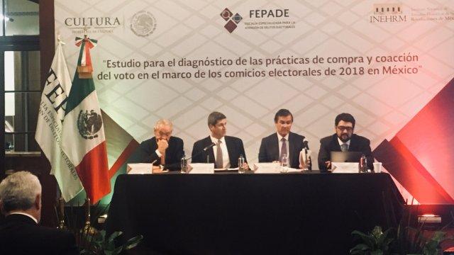 Fepade confirma compra de votos en el proceso electoral