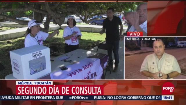 Consulta ciudadana por el Nuevo Aeropuerto, sin incidentes en Mérida