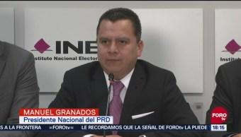 Consulta independiente violenta la ley, dice presidente del PRD