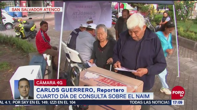 Cuarto Día Consulta Ciudadana Sobre El Naim Nuevo Aeropuerto De México