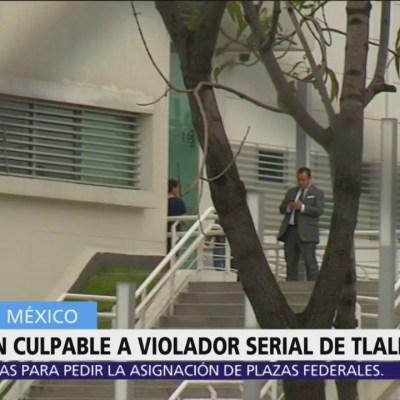 Culpable, violador serial de Tlalpan; enfrenta 20 años en prisión