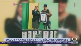 Daddy Yankee logra el Récord Guinness en Spotify