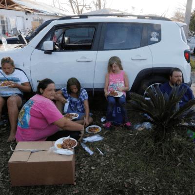 Rapiña en Florida tras devastación por huracán 'Michael'