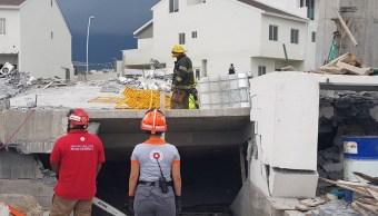 Nuevo León: Derrumbe de edificio deja 8 muertos