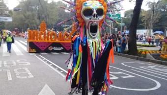 Usuarios Redes Sociales Fotos Desfile Día Muertos