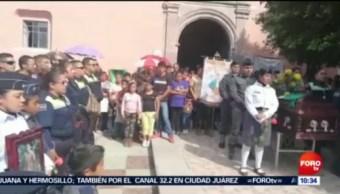 Despiden Honores Mando Policíaco Guanajuato