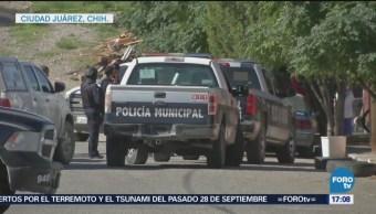 Detienen Cinco Personas Agredir Policías Ministeriales Chihuahua