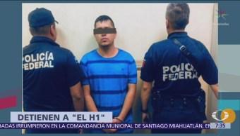 Detienen a 'El H1', presunto líder criminal en Guanajuato
