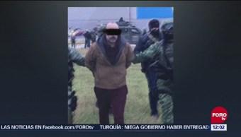 Detienen a El Panilo líder del Cártel del Golfo en Reynosa