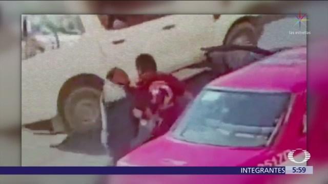 Detienen a taxista que desarmó a policía en el Edomex
