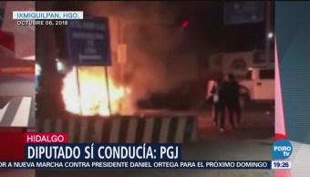 Diputado Cipriano Charrez Niega Responsabilidad Accidente Muerte Persona