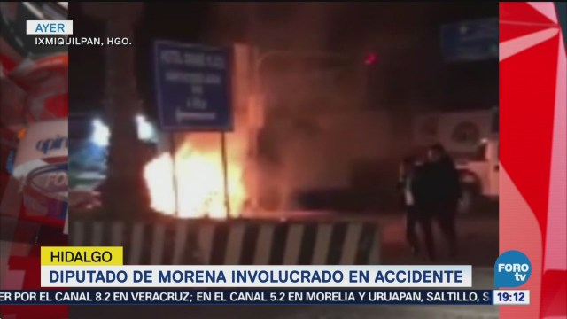 Diputado Morena Involucrado Accidente