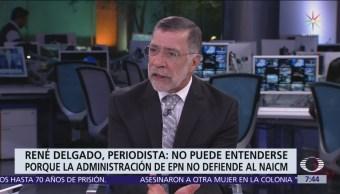 Dónde está Peña Nieto análisis de René Delgado