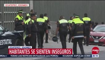 Ecatepec Primer Lugar Percepción Inseguridad