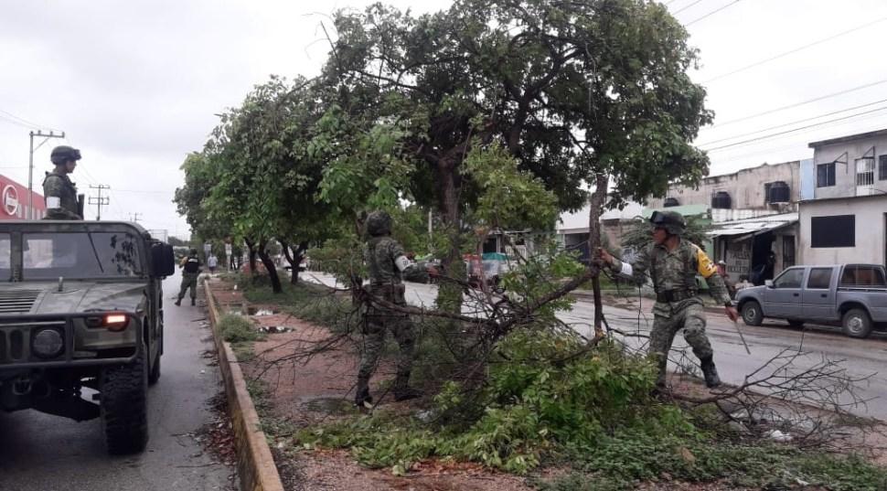 Clima Quintana Roo; aplican plan DN-III-E por 'Michael'