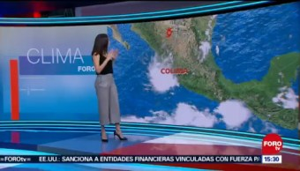 El Clima 'A las Tres' con Daniela Álvarez del 16 de octubre del 2018