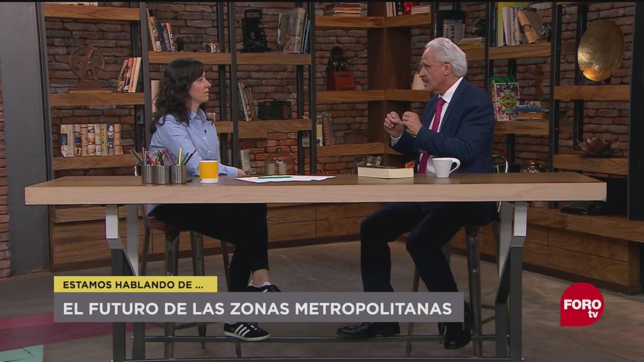 El Futuro Zonas Metropolitanas Manuel Perló, Especialista Del Instituto De Investigaciones Sociales De La Unam