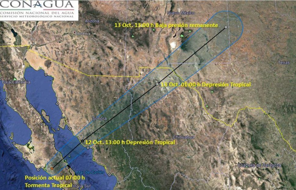 El gobernador de Baja California Sur, Carlos Mendoza Davis