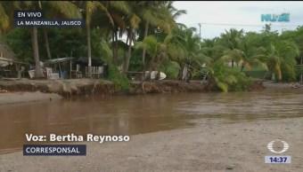 El huracán 'Willa' deja daños en Jalisco