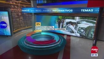 El impacto en las portadas de los principales diarios del 23 de octubre del 2018