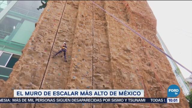 El muro de escalar más alto de México