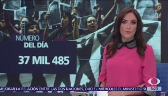 37 mil 485 las personas desaparecidas en México