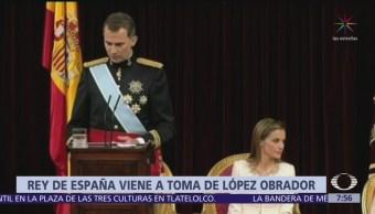 El rey Felipe VI de España acudirá a investidura de AMLO