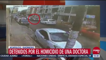 Capturados presuntos asesinos de la doctora Reyna Valenzo en Guerrero