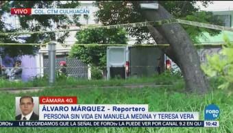 Encuentran cuerpo en CTM Culhuacán de Coyoacán