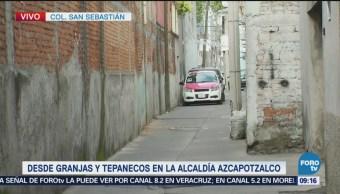 Encuentran cuerpo sin vida dentro de taxi en Azcapotzalco