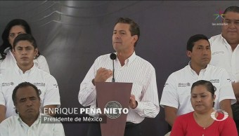 EPN Sexenio Suficiente Concluir Obras Infraestructura