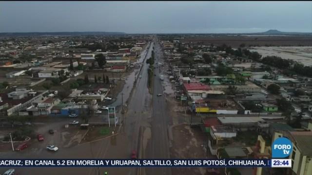 Tormenta Rosa Afecta El Norte De Baja California