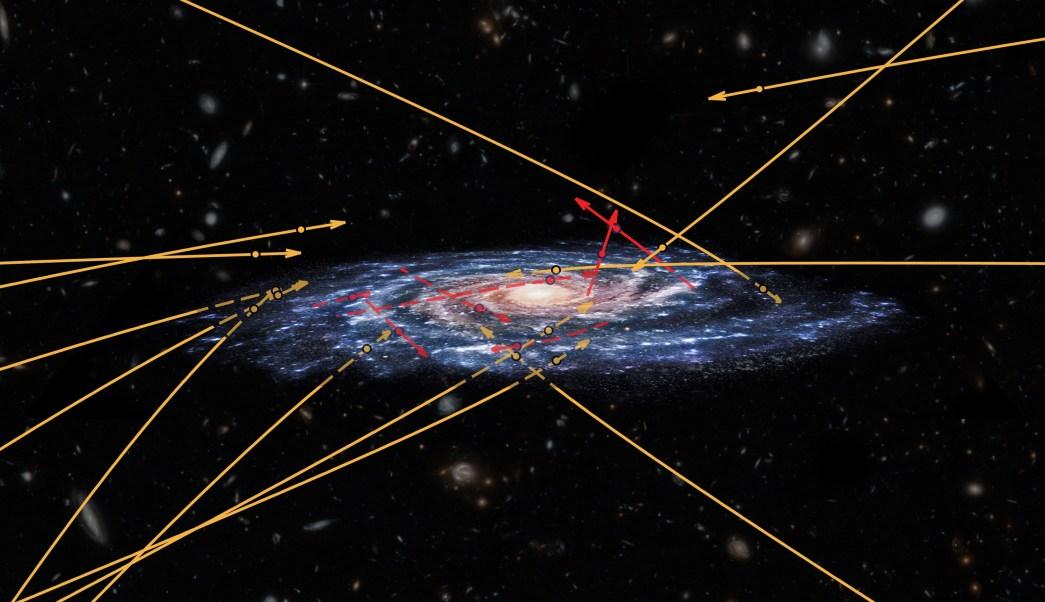f2c40187295 En la Vía Láctea descubren estrellas que podrían ser de otra galaxia