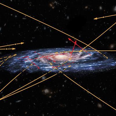 En la Vía Láctea descubren estrellas que podrían ser de otra galaxia