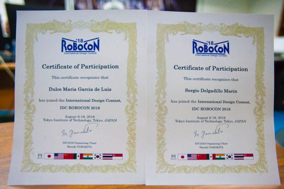 Estudiantes del IPN triunfan en Robocon 2018