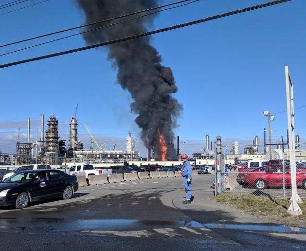 Irving Oil: Explosión de refinería deja 4 heridos