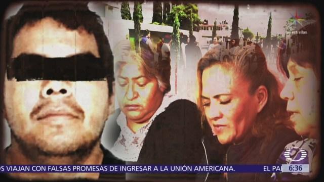 Familiares de víctimas de los presuntos feminicidas de Ecatepec exigen justicia
