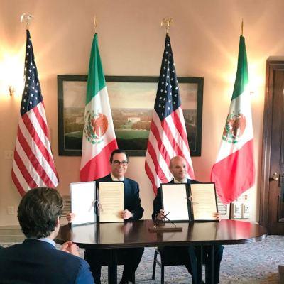 México y Estados Unidos firman Memorando de Entendimiento