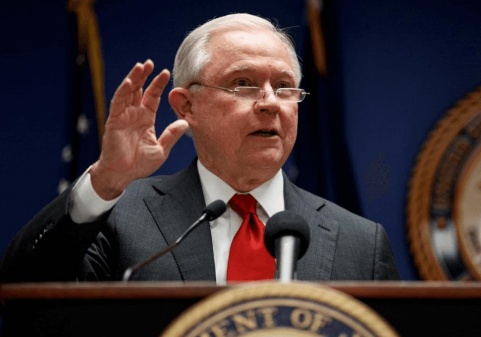 Fiscal general de Estados Unidos, Jeff Sessions. (AP)