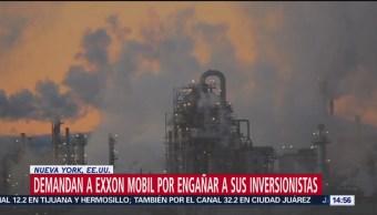 Fiscalía de Nueva York demanda a Exxon por daño ambiental