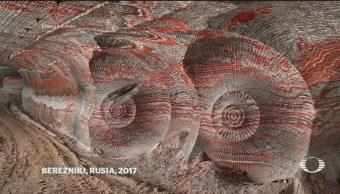 Fotografías Muestran Huellas Humanidad Planeta Ecología