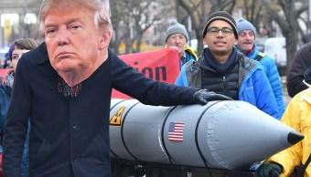 Trump amenaza con fortalecer arsenal nuclear de EEEUU