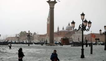 Suman seis muertos por inundaciones en Venecia