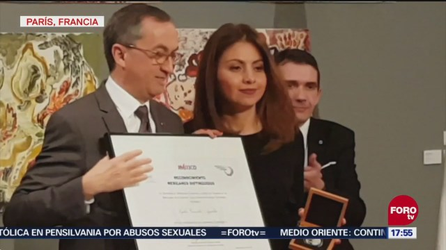 Francia galardona a chef mexicana