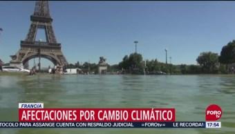 Francia resiente efectos del cambio climático